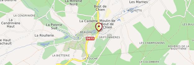 Carte ZooParc de Beauval - Châteaux de la Loire