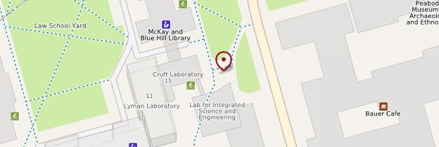 Carte Harvard University - Boston