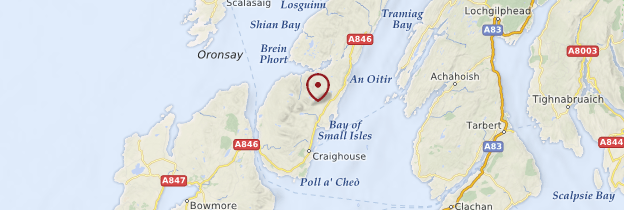 Carte Jura - Écosse