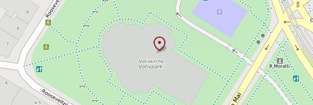 Carte Votivkirche (Église votive) - Vienne