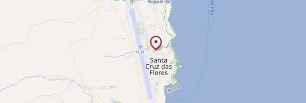 Carte Santa Cruz das Flores - Açores
