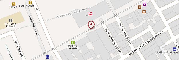 Carte İstiklâl Caddesi - Istanbul