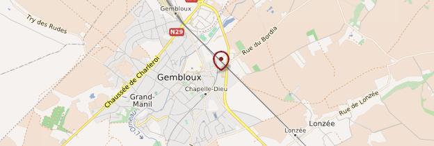 Carte Gembloux - Belgique