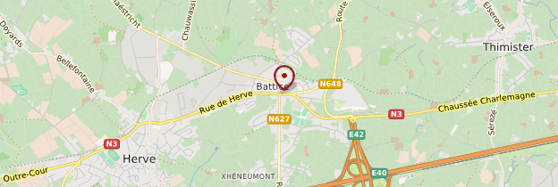 Carte Battice - Belgique