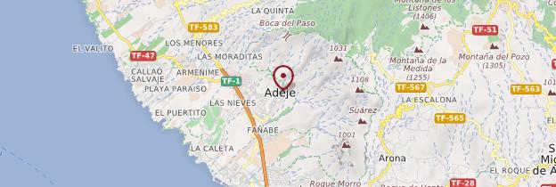 Carte Adeje - Tenerife