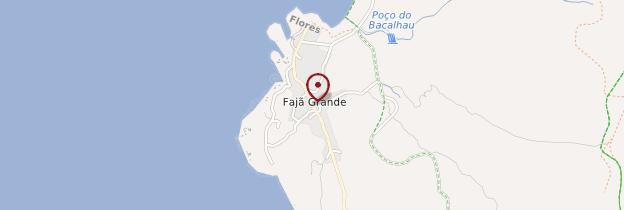 Carte Fajã Grande - Açores