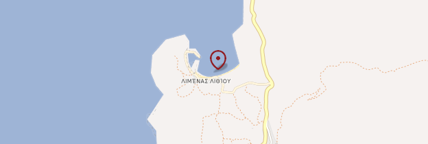Carte Lithi - Îles grecques