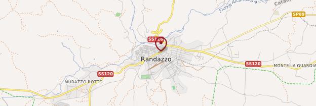 Carte Randazzo - Sicile