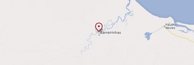 Carte Barreirinhas - Brésil
