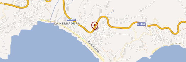 Carte La Herradura - Andalousie
