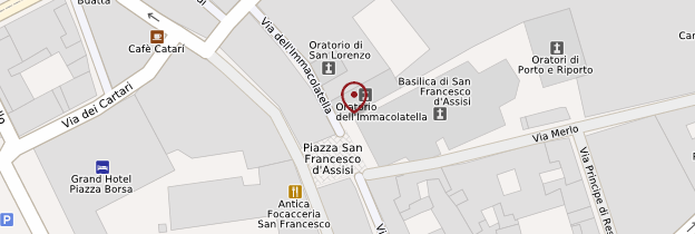 Carte Chiesa San Francesco d'Assisi - Sicile