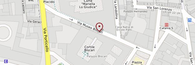 Carte Palazzo Biscari - Sicile
