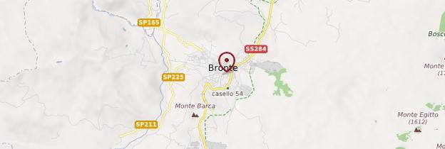Carte Bronte - Sicile