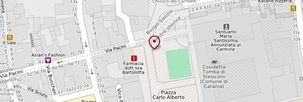 Carte Piazza Carlo Alberto - Sicile
