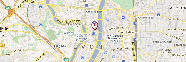 Carte Lyon - Lyon et ses environs