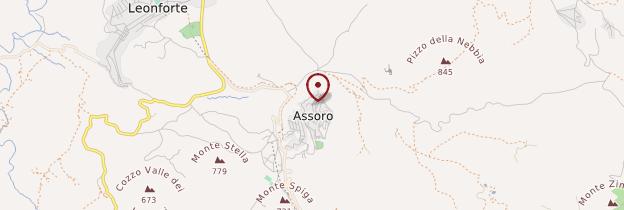 Carte Assoro - Sicile
