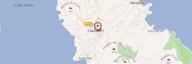 Carte Capoliveri - Toscane