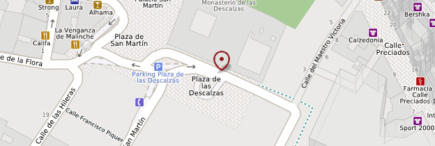 Carte Convento de las Descalzas Reales - Madrid