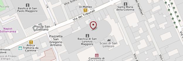Carte Chiesa San Lorenzo Maggiore - Naples
