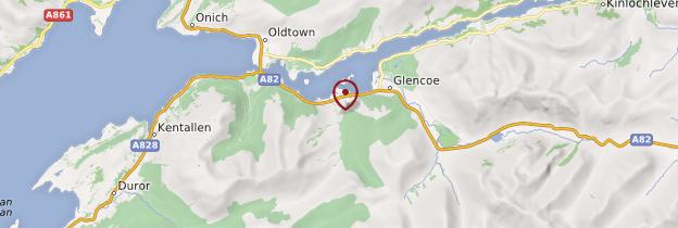 Carte Ballachulish - Écosse