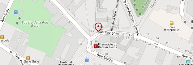 Carte Bateau-Lavoir - Paris