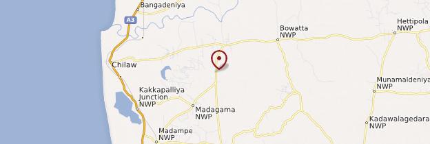 Carte Aluthgama - Sri Lanka