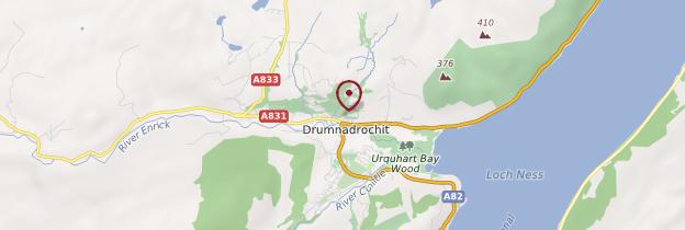 Carte Drumnadrochit - Écosse