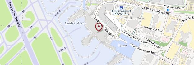 Carte Aéroport international de Dublin - Dublin