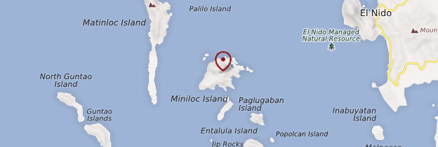 Carte Miniloc Island - Philippines