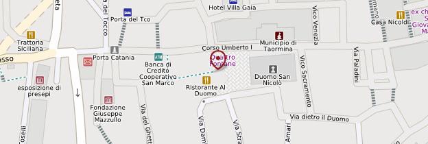 Carte Duomo - Sicile