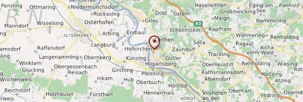 Carte Hofkirchen - Allemagne