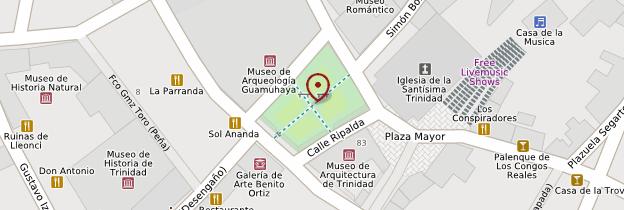 Carte Plaza Mayor de Trinidad - Cuba