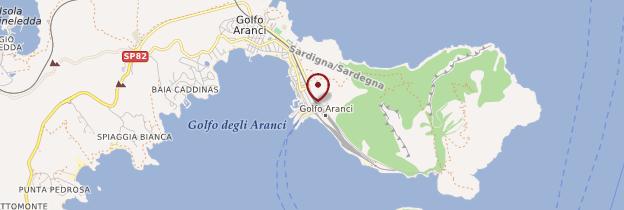 Carte Golfo Aranci - Sardaigne