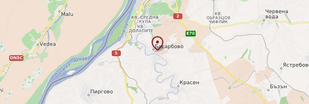 Carte Bassarbovo - Bulgarie
