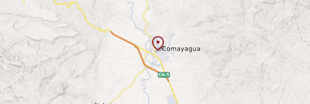 Carte Comayagua - Honduras
