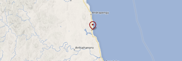 Carte Ampahana - Madagascar