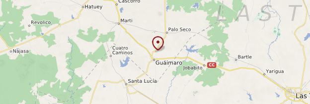 Carte Guáimaro - Cuba