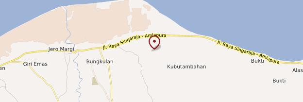 Carte Kubutambahan - Bali