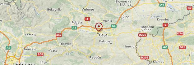 Carte Celje - Slovénie