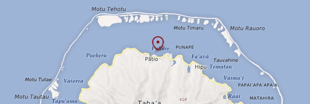 Carte Patio - Polynésie française