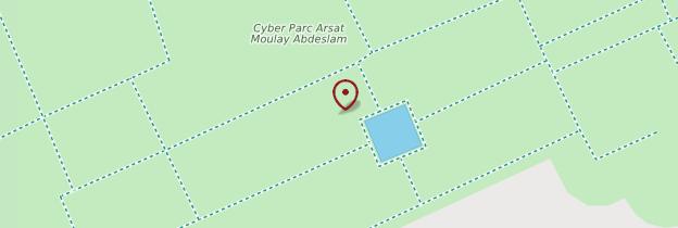 Carte Cyberparc Moulay Abdelslam - Marrakech
