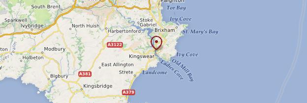 Carte Dartmouth - Angleterre