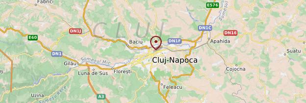 Carte Cluj-Napoca - Roumanie