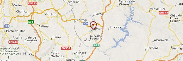 Carte Tomar - Portugal
