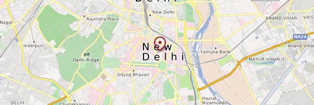 Carte New Delhi - Delhi