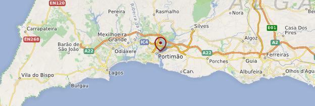 Carte Du Portugal Ville De Portimao