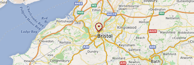 Carte Bristol - Angleterre