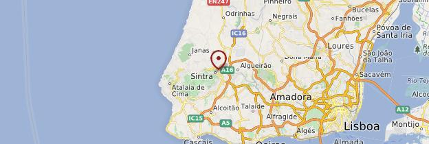 Carte Sintra - Portugal