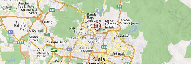 Carte Batu Caves - Kuala Lumpur