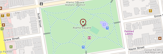 Carte Alamo Square - San Francisco